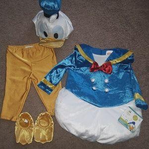Adorable!!! Disney Donald Duck Costume